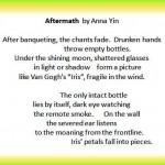 A poem inspired by Souster's war poem