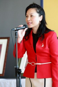 Photo at National Poetry Month event