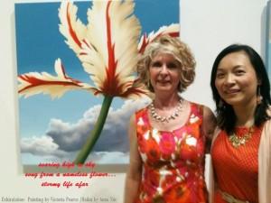 2014-Burlington Art Center -Haiku Awards Presentation & In the Garden Catalogue Launch