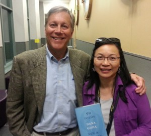 Dana Gioia and Anna Yin at the 2016 West Chester Poetry Conference