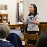 anna yin using photo to discuss haiku